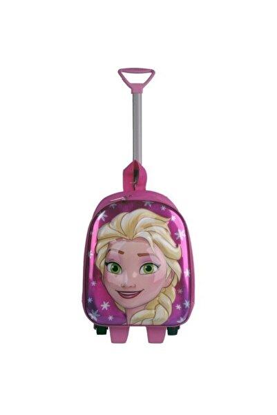 Frozen Elsa  Çekçekli Çocuk Sırt Çantası