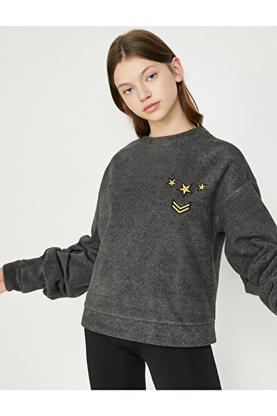 Kadın Gri Sweatshirt 8KAK12504NK