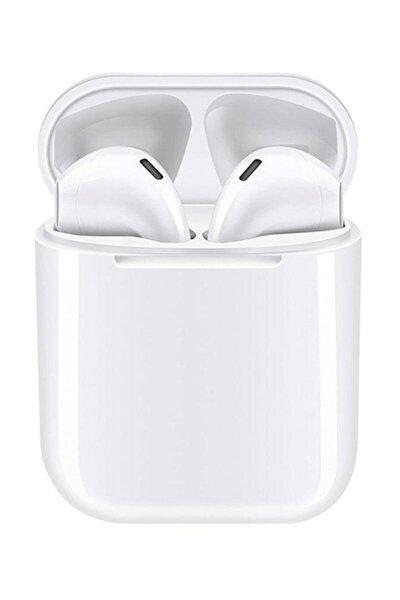 Airpods I12 Beyaz Iphone Android Universal Bluetooth Hd Ses Kalitesi Kulaklık