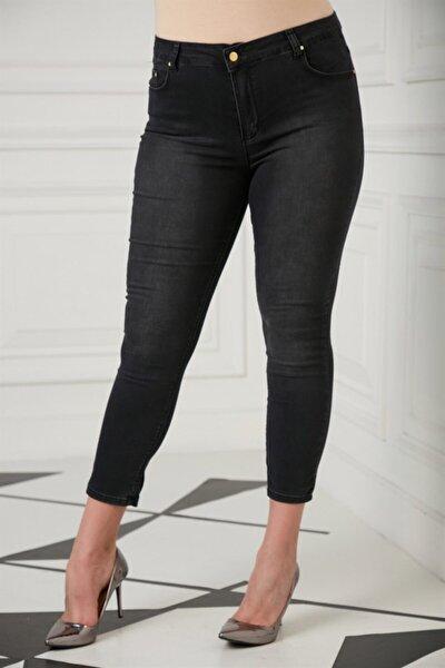 Kadın Füme Büyük Beden Pantolon