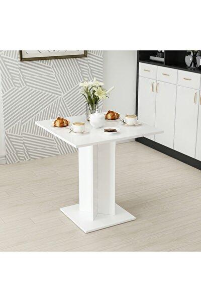 Beyaz Xeon Yemek Masası 72X72