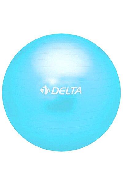 25 cm Renkli Kutulu Mini Pilates Topu Denge Egzersiz Topu