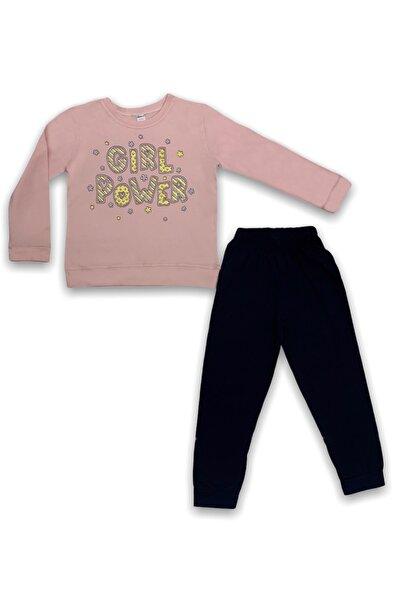 Kız Çocuk Pudra  Girl Power Takım