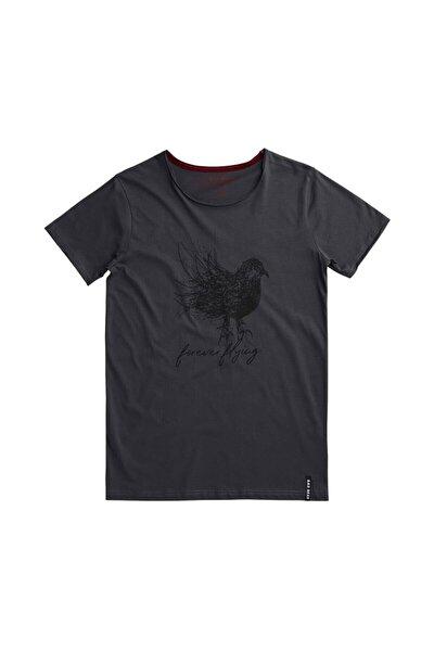 Erkek Antrasit Scrubbırd Tee Raven Tişört