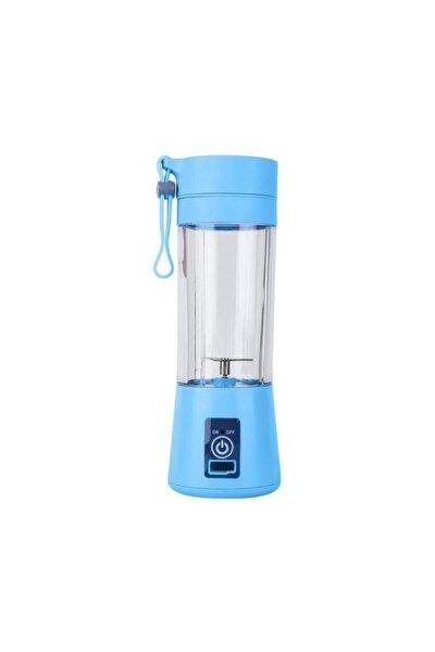 Mavi Şarjlı Portatif El Blenderi 380 ml