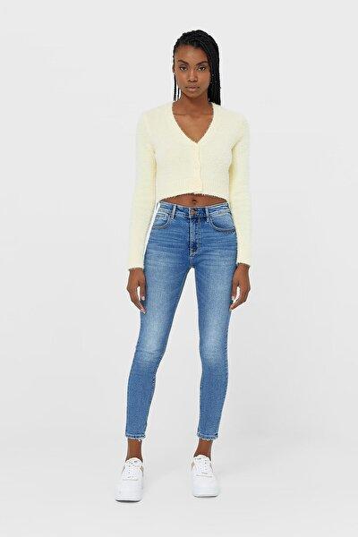 Kadın Açık Mavi Yüksek Bel Skinny Jean 01420520