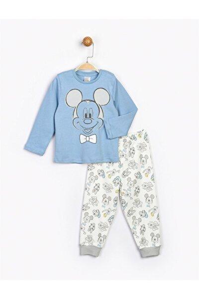 Erkek Çocuk Mavi Disney Mickey Takım 18197