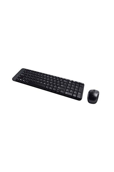 Mk220 Siyah Kablosuz Mouse Ve Klavye Set