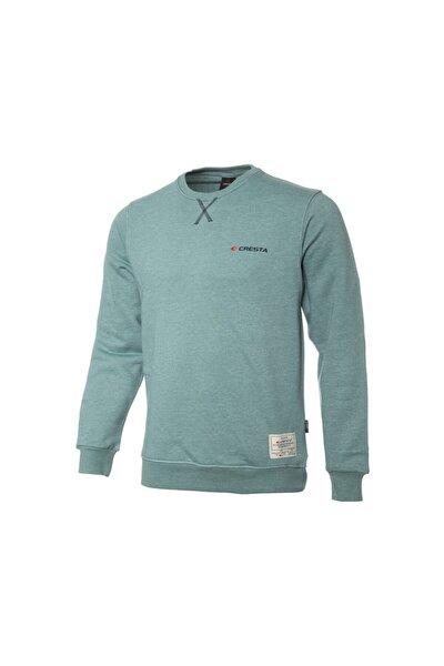 Erkek Yeşil Basic Outdoor Sweatshirt