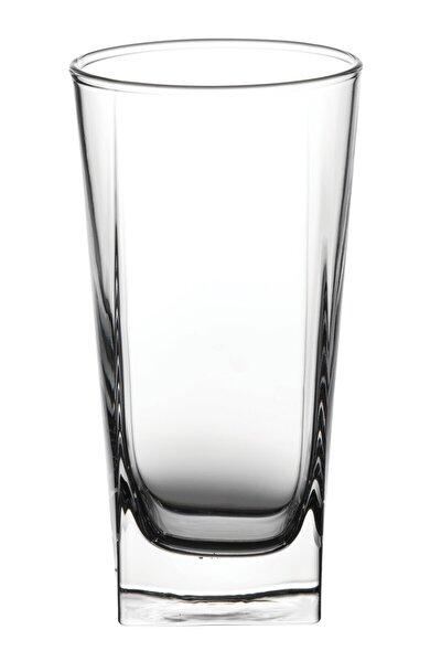 Beyaz 3'lü Carre Meşrubat Bardağı