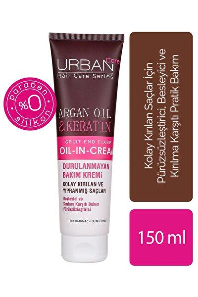 Argan Yağı&Keratin İçeren, Besleyici& Kırılma Karşıtı Durulanmayan Saç Kremi 150 ml