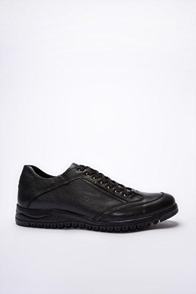 Hakiki Deri Siyah  Sneaker 02AYH200840A100