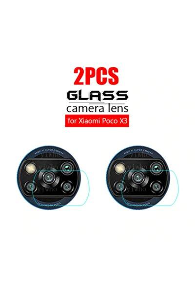 Xiaomi Poco X3 Nfc 2.5d Temperli Kamera Koruyucu Kamera Camı X 2 Adet