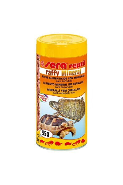 Raffy Mineral Sürüngen Yemi 250 ml