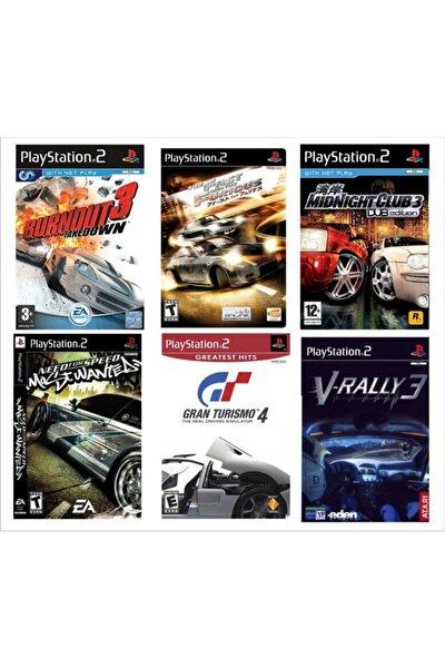 Playstatıon 2 - En Güzel 6 Araba Yarışı Oyunu