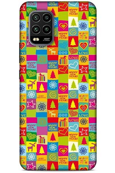 Yılbaşı Süsleri 10 Xiaomi Mi 10 Lite Silikon Kapak Kılıf