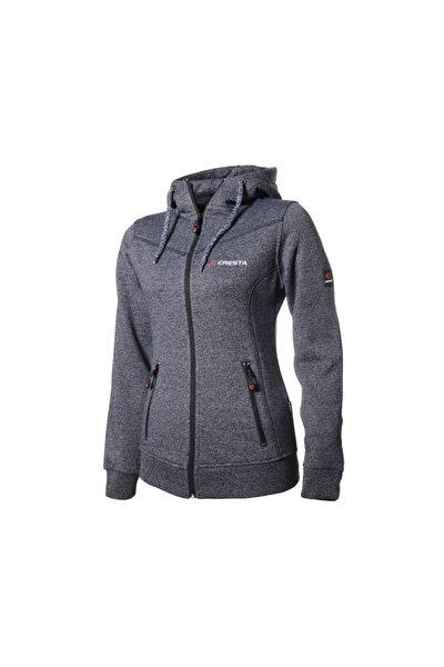 Kadın Gri Outdoor Kapüşonlu Ceket