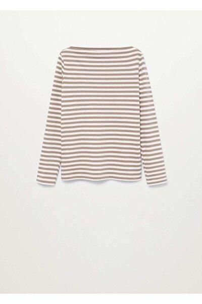 Uzun Kollu Pamuklu Tişört