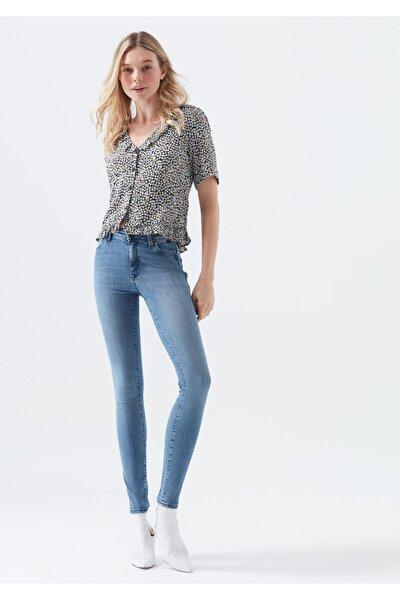 Kadın Mavi Alissa Gold Jean