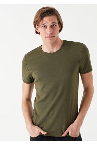 Haki Basic Tişört