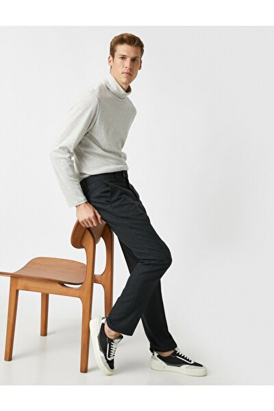 Slim Fit Comfort Strech Cepli Chino Pantolon