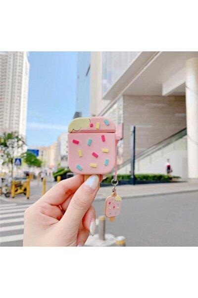 Apple Airpods Sevimli Çubuk Dondurma Kılıf 1 Ve 2. Nesil