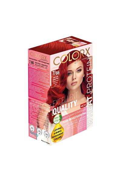 7.66 Akik Kızılı Set Saç Boyası