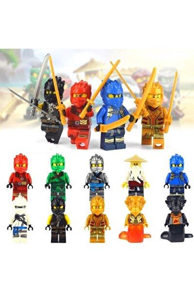 Lego Uyumlu Ninjago 10 Lu Mini Figür Set Yeni Sezon Ninja Go