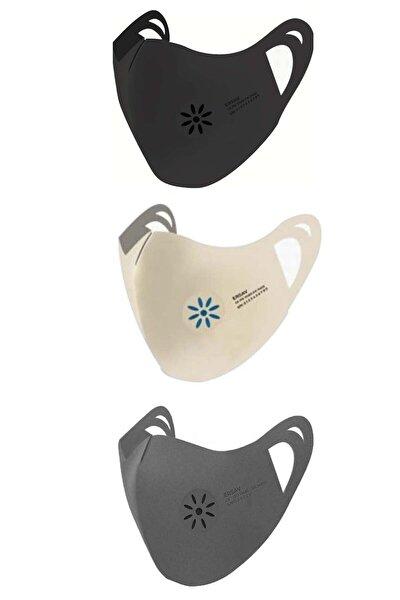 Karma 3 Lü Set 7 Kat Filtreli Yıkanabilir Nano Maske