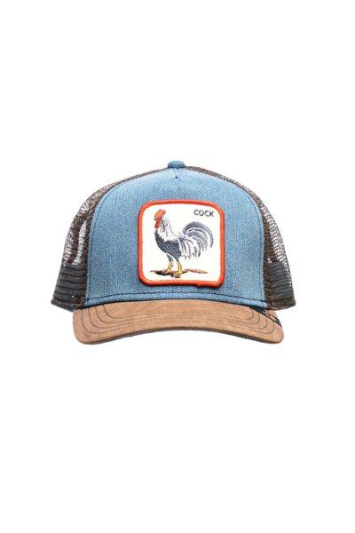 Unisex Mavi Şapka