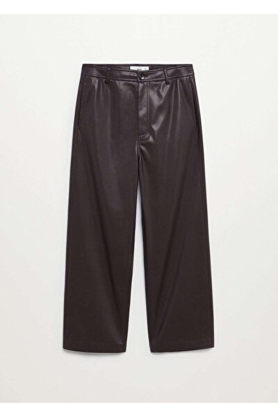 Kadın Koyu Bordo Pantolon