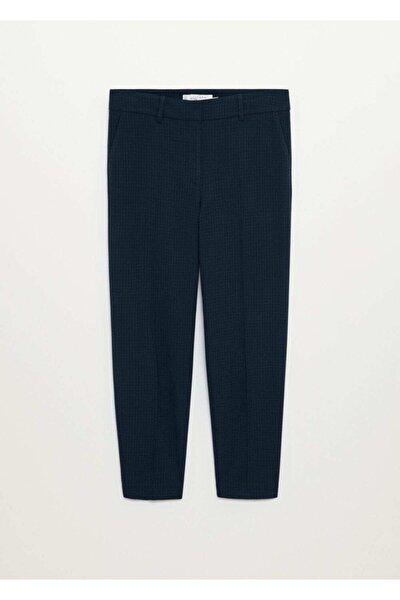 Kadın Dar Kesimli Takım Pantolon