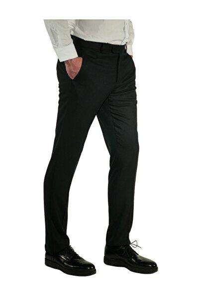 Erkek Lacivert Regular Fit Aguard Pantolon