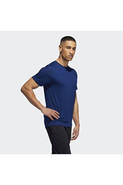 Erkek Lacivert Freelıft Sport Prıme Heather Tee T-Shirt Eb8027