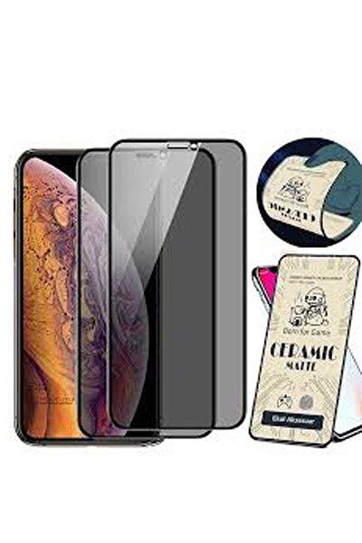 Iphone 11 Pro Esnek Tam Kaplayan Nano Seramik Kırılmaz Cam