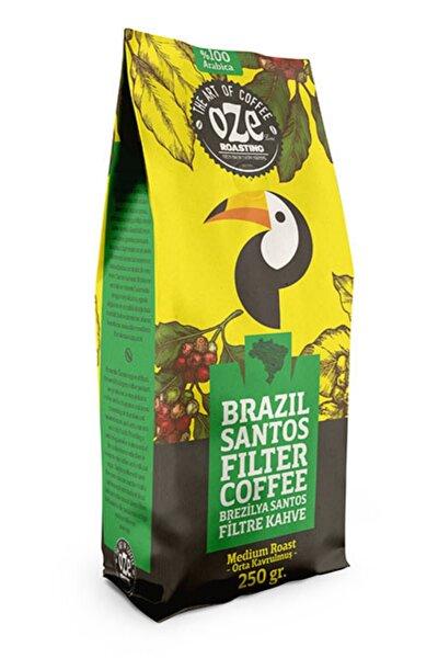 Brazil Santos Filtre Kahve 250 Gr. ( French Press Için Öğütülmüş )