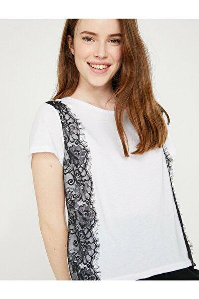 Kadın Beyaz T-Shirt 8YAK13759GK