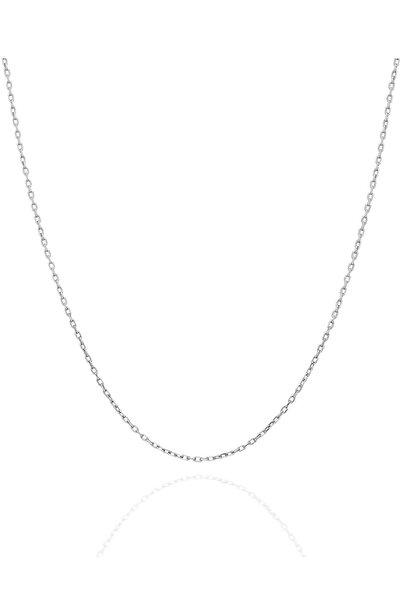 Kadın 925 Gümüş Hayalet Kolye Zinciri (45 cm)