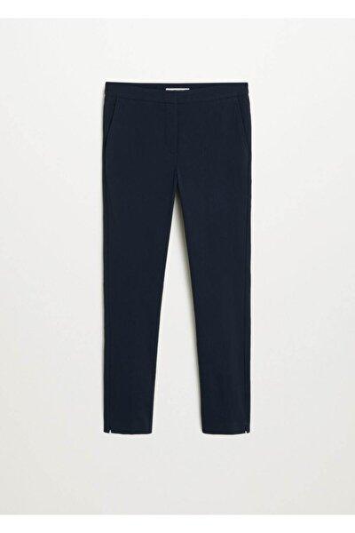 Kadın Lacivert Kısa Paçalı Skinny Pantolon 67080514