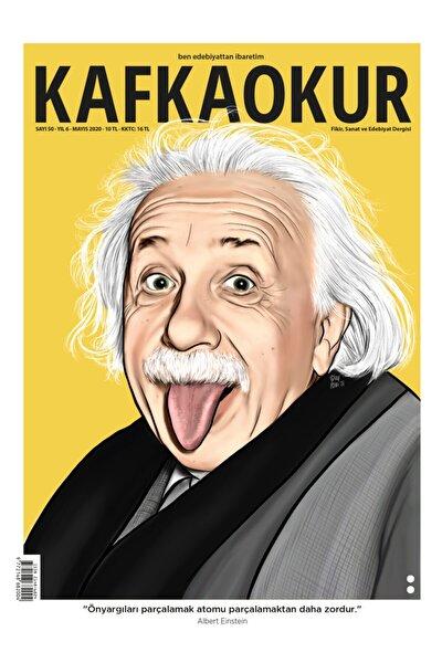 Kafkaokur Dergisi 50. Sayı, Kafka Okur Dergisi Albert Einstein
