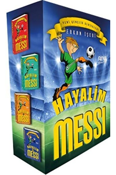 Hayalim Messi - 4 Kitap Set - Erkan Işeri