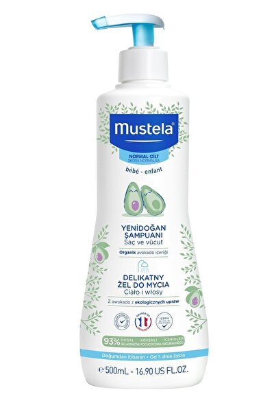Avokado Içerikli Yenidoğan Şampuanı 500 Ml