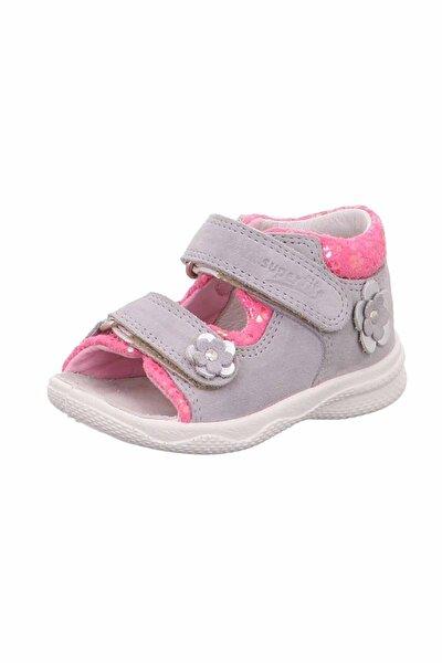 Kız Çocuk Gri Sandalet