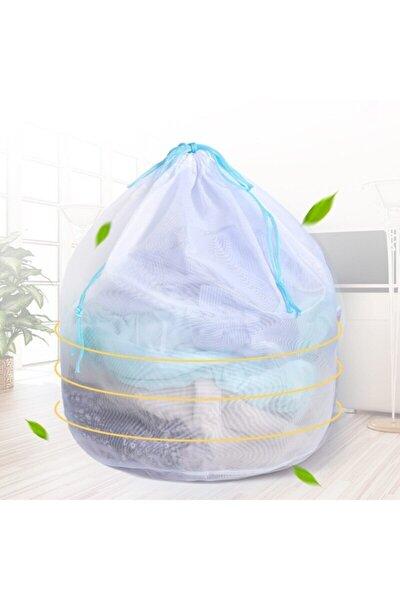 Çamaşır Yıkama Filesi Mavi Ipli 40x60