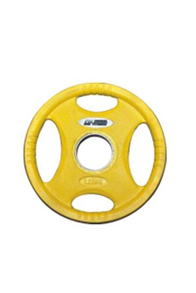 Sarı Fitness Rop4 Kauçuk Flanş 1,25 kg