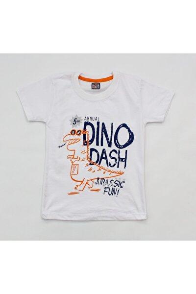 Dino Dash Baskılı Çocuk Tişört
