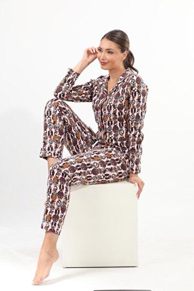 Kadın Pamuklu Pijama Takımı
