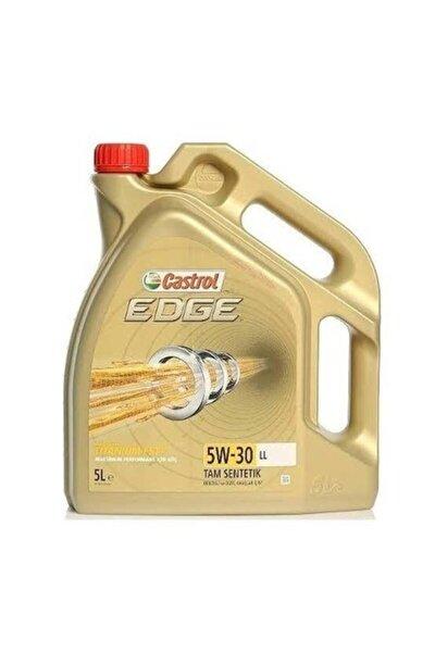 Castrol Edge Ll 5w30 Titanyum 5 Litrelik Motor Yağı