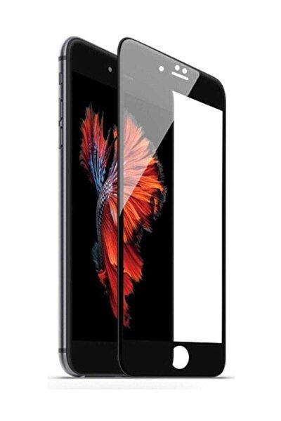 Iphone 7 Ve 8 Tam Kaplayan 5d 9d Kırılmaz Cam Ekran Koruyucu Siyah