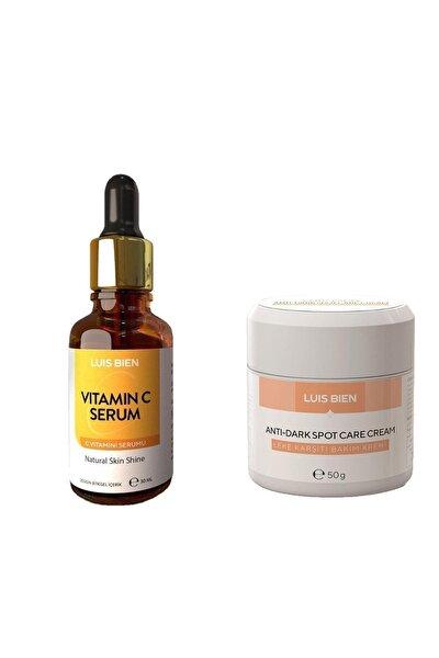 Leke Kremi + C Vitamini Serum 2'li Set